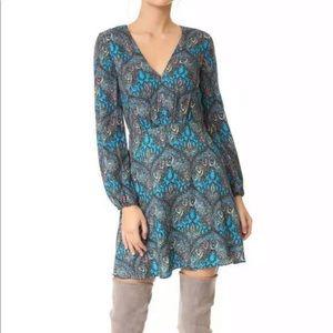 Alice + Olive Floral long sleeve dress